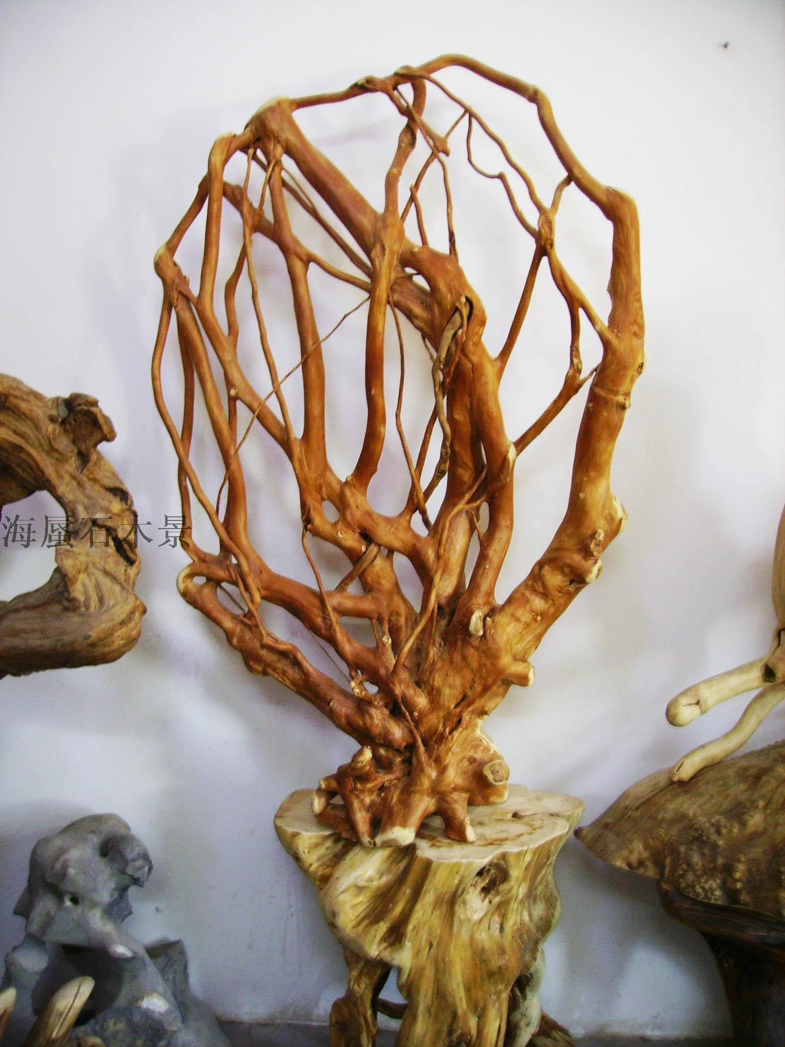 枯烂木根雕摆件图片